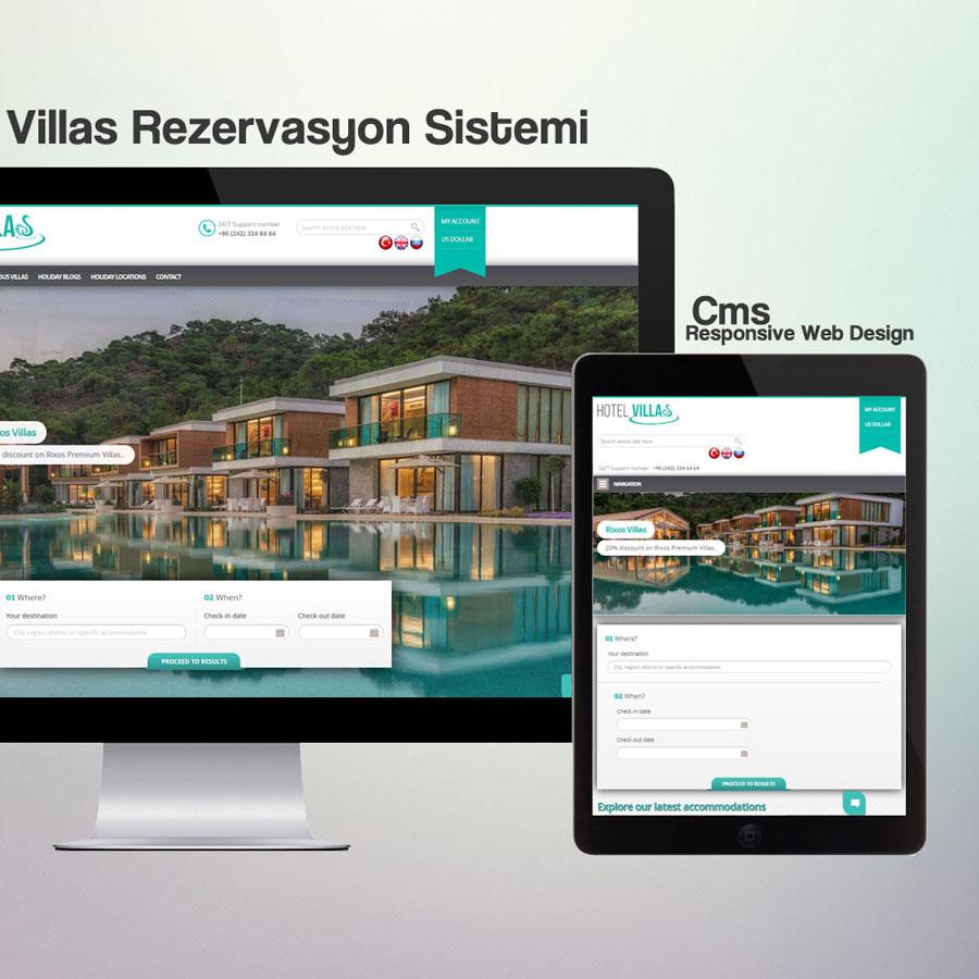 Hotel Rezervasyon Sistemi